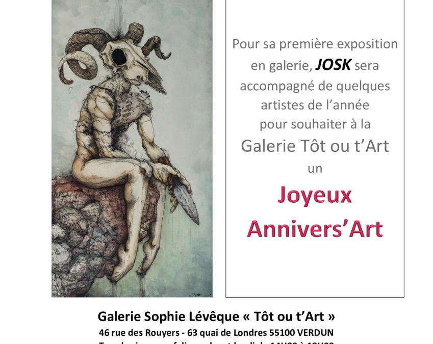 Joyeux Annivers'Art