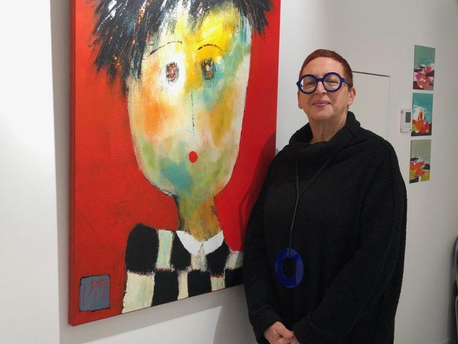 EN EXPOSITION PERMANENTE Christine BARRES