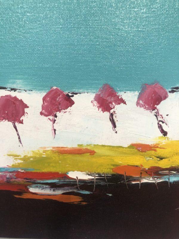 paysage fleuri
