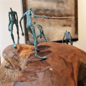 Sculpture 8 Planète Cécile THONUS