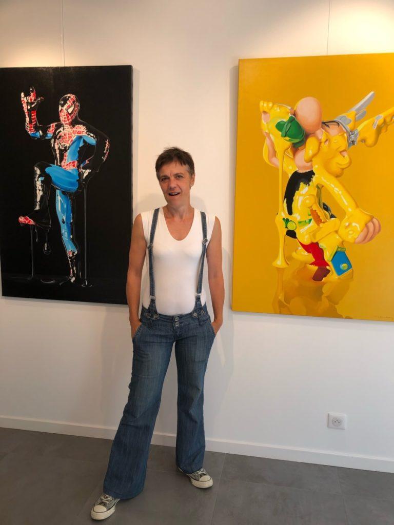 Réveil des consciences avec Sylvie HERZOG à la Galerie Tôt ou t'ART